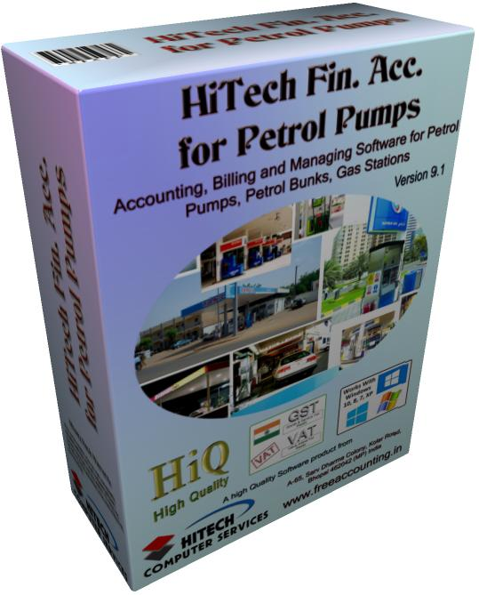 Buy HiTech Financial Accounting for Petrol Pumps Now.