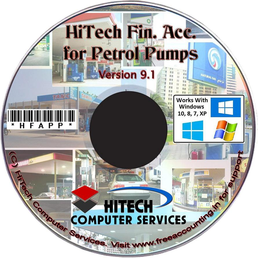 HiTech Billing, Accounting Software for Petrol Pumps, Petrol