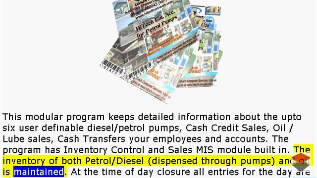 Petrol Pump accounting software, POS software for petrol pumps, POS, Business Management and Accounting Software for Petrol Pumps. Modules : Pumps, Parties, Inventory, Transactions, Payroll, Accounts & Utilities. Free Trial Download.